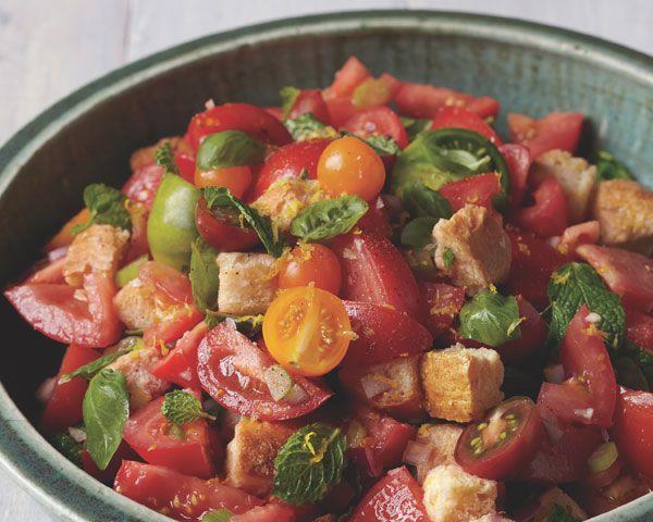 Italian Tomato-Bread Salad--Recipes to Keep!