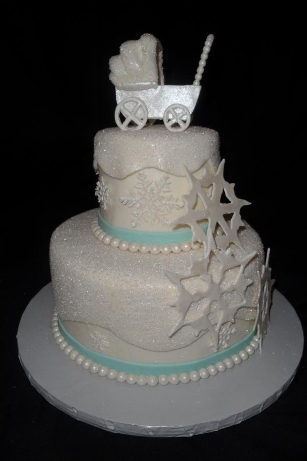 winter baby shower cake baby shower pinterest