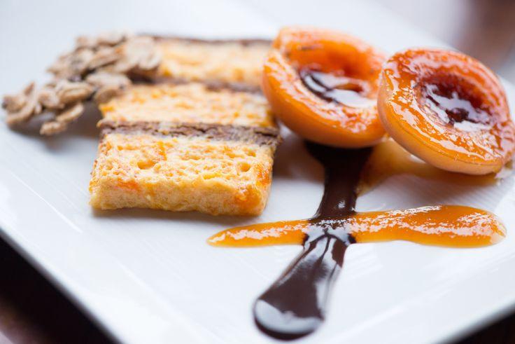 Chocolate Apricot Semifreddo www.nickscove.com
