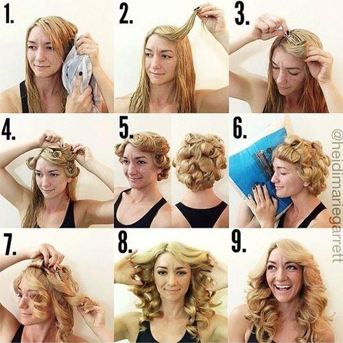 Как в домашних условиях красиво накрутить волосы на