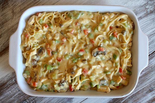 Chicken Spaghetti Casserole | Recipe