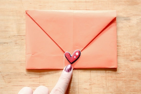 How To Make A Note Into An Envelope From An 8x11 Sheet Of