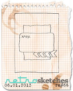 retro sketches : a challenge: retrosketches #66...  Saturday, June 1, 2013