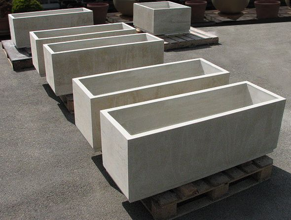 Planter bonewood 3 garden pinterest Concrete planters