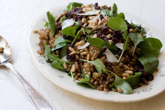 Arugula Pesto Wheat Berries | Recipe