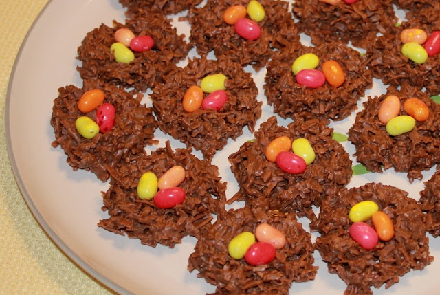 Fun for Easter, Chocolate, Coconut Nests | Easter Sunday | Pinterest
