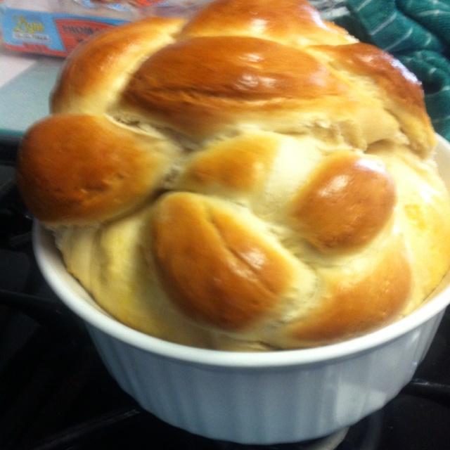 Paska bread. Turned our just like Grandma's