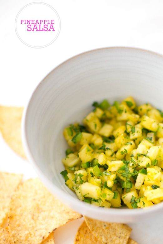 pineapple salsa - a house in the hills - interiors, style, food, and ...