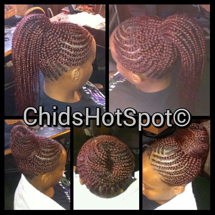 Ghana weaving or Ghana braids | Hair styles | Pinterest