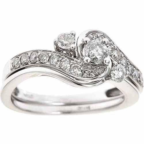 Bridal Sets Bridal Sets 14k White Gold 3k Diamond