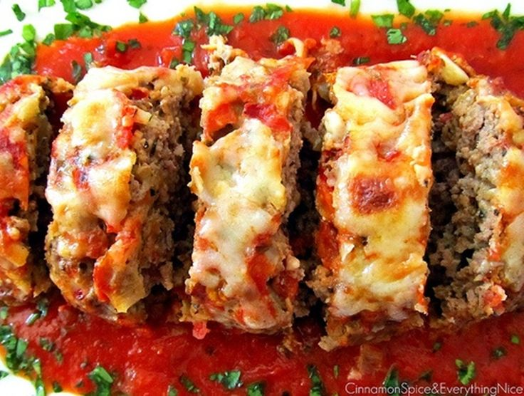 Italian meatloaf....this was delicious! | Food | Pinterest