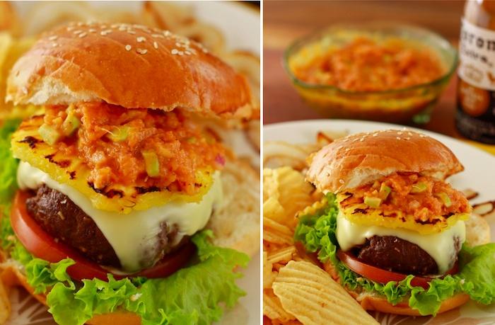 Jamaican Jerk Burger | delish | Pinterest