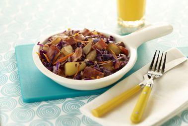 Turkey Bacon Skillet Breakfast | What's For Breakfast? | Pinterest