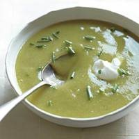 Chilled Potato Leek Soup this is great soup and easy to make.
