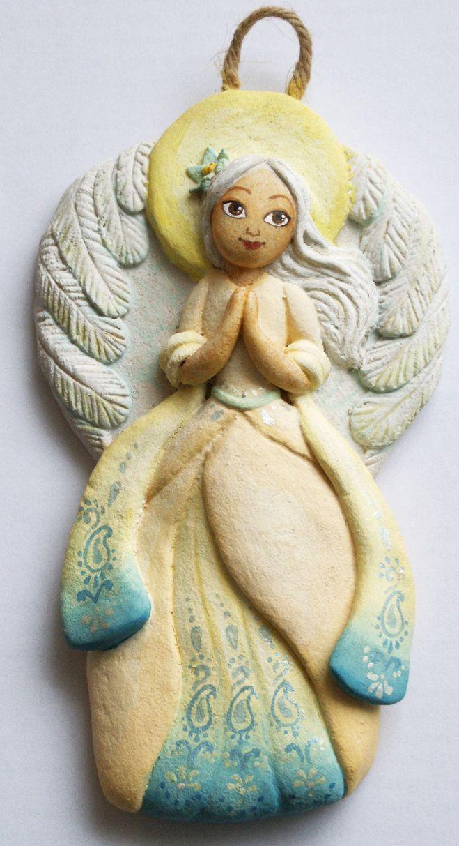 Ангелочек из солёного теста своими руками 92
