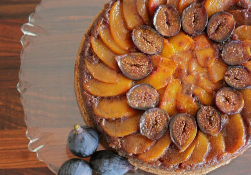 spiced honey cake with caramelized figs recipes dishmaps spiced honey ...