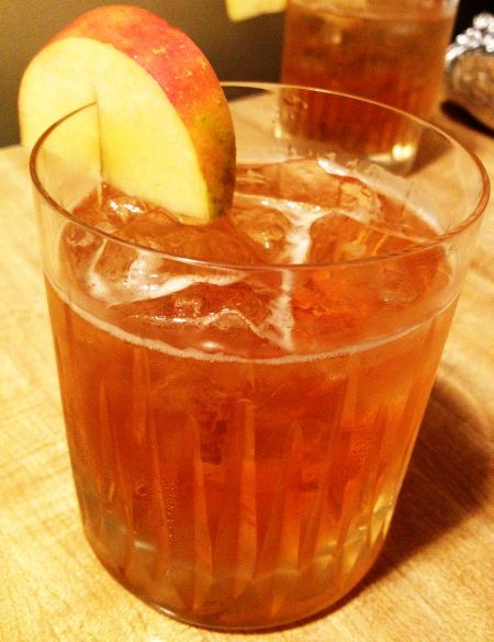 cider bourbon cocktail | Mixology | Pinterest