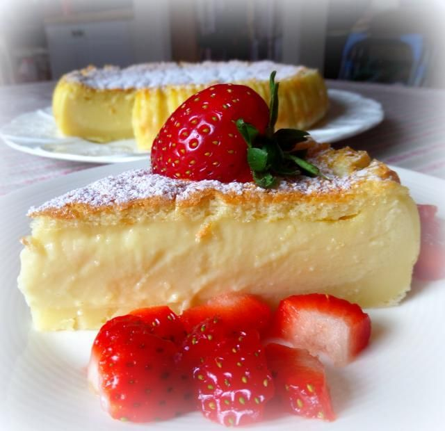 Magic Custard Cakefrom The English Kitchen