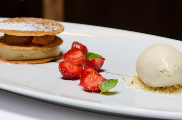 Strawberry Balsamic Custard Tart Recipes — Dishmaps