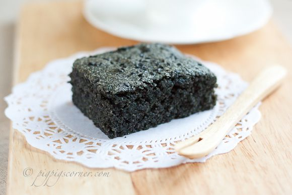 Black Sesame Brownies | Cooking and Baking | Pinterest