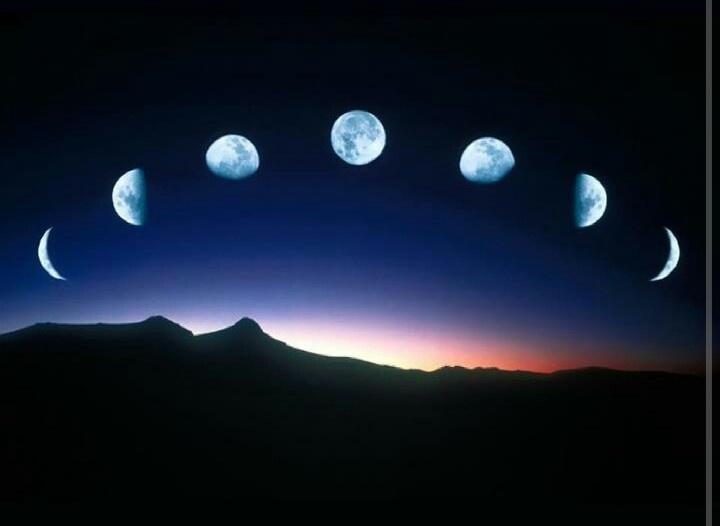 Moon phases | Amazing Nature | Pinterest