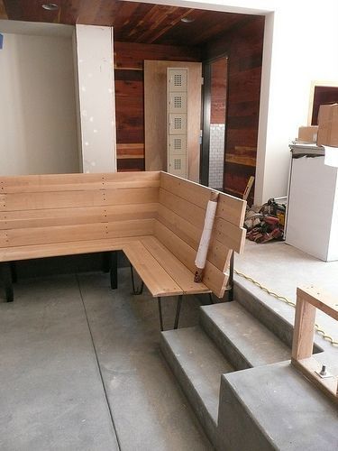 Modern Banquette Bench Google Search Kitchen Remodel Pinterest