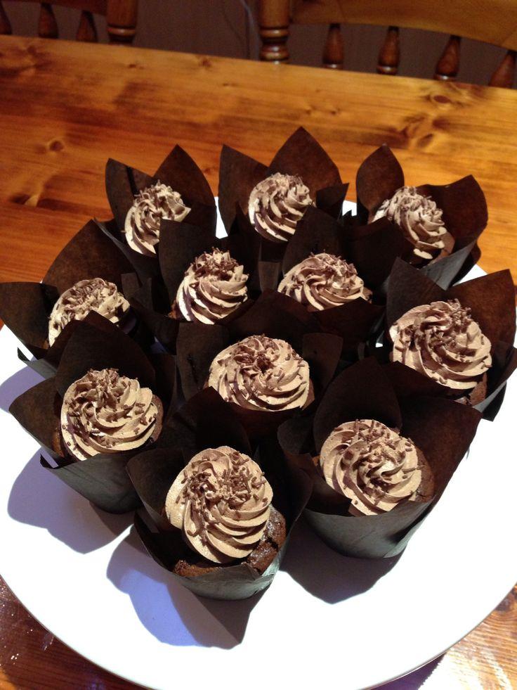 Flourless Choc-Hazelnut cupcakes. | My Food Style | Pinterest