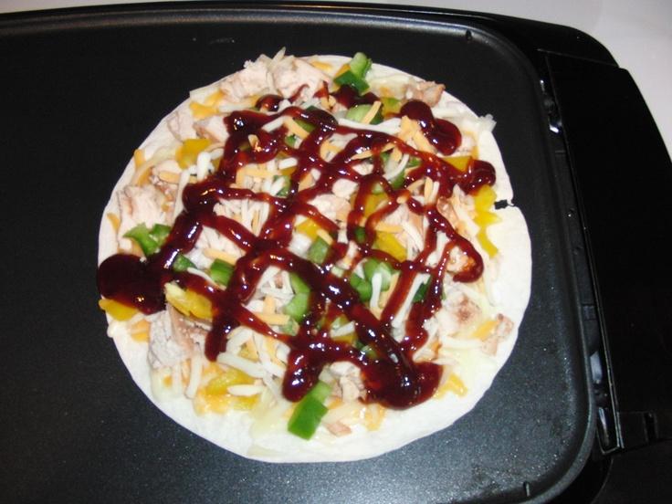 BBQ Chicken Quesidilla