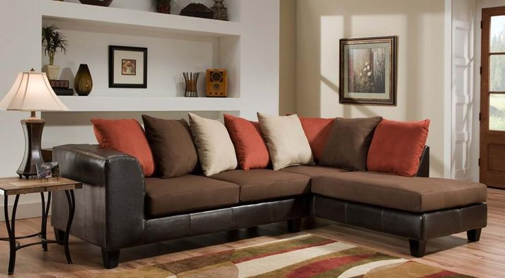 Jefferson Chocolate Sectional
