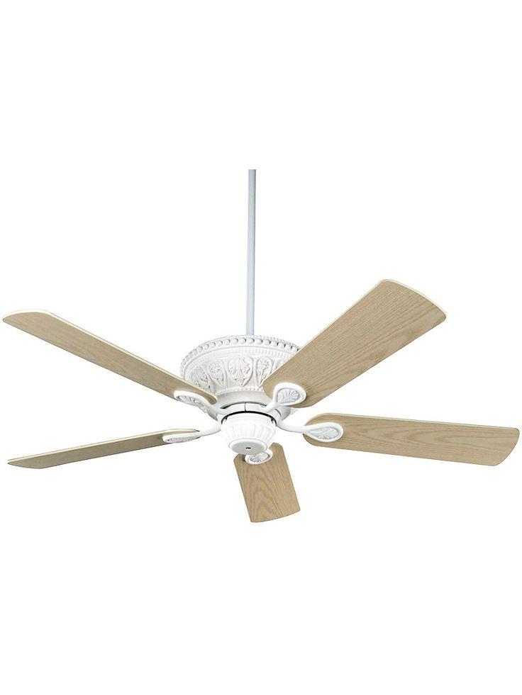 antique white ceiling fan