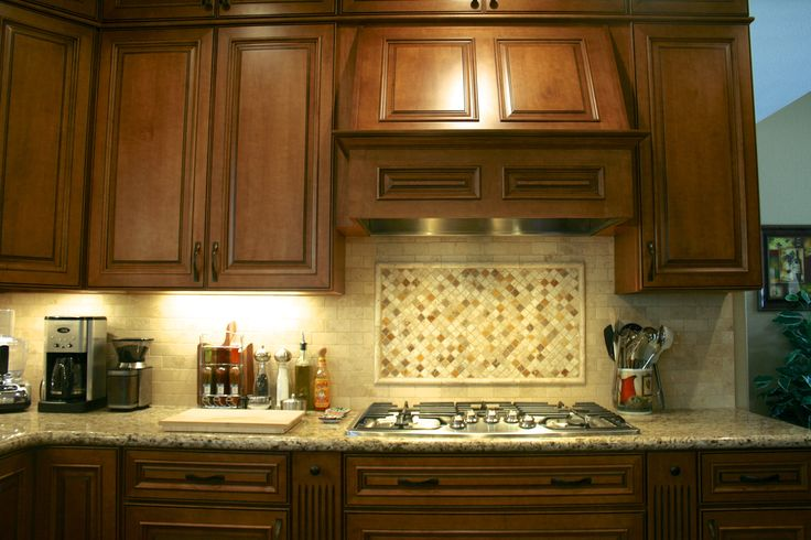 Backsplash Design Above Range Kitchen Projects Pinterest