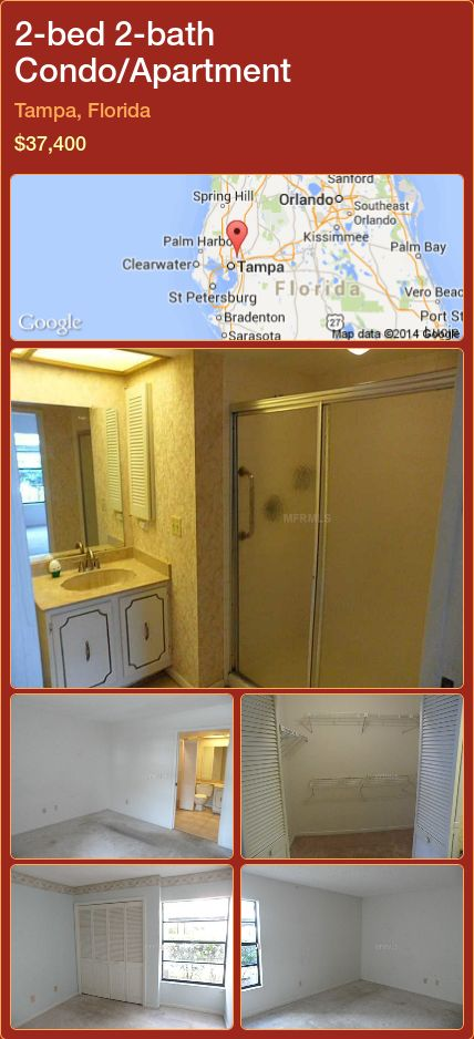Condo Apartment For Sale In Tampa Florida With 2 Bedroom 2 Bathroom