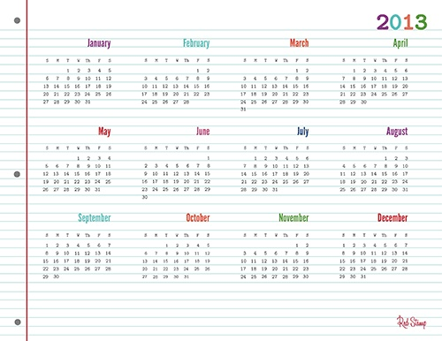 Year At Glance Calendar : Year at a glance calendar new template site