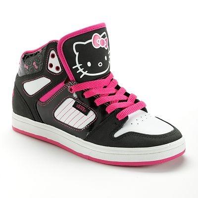 Vans Allred Hello Kitty High-Top Skate Shoes - Women