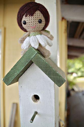 Free Amigurumi Head Pattern : Free fairy crochet pattern Amigurumi Pinterest