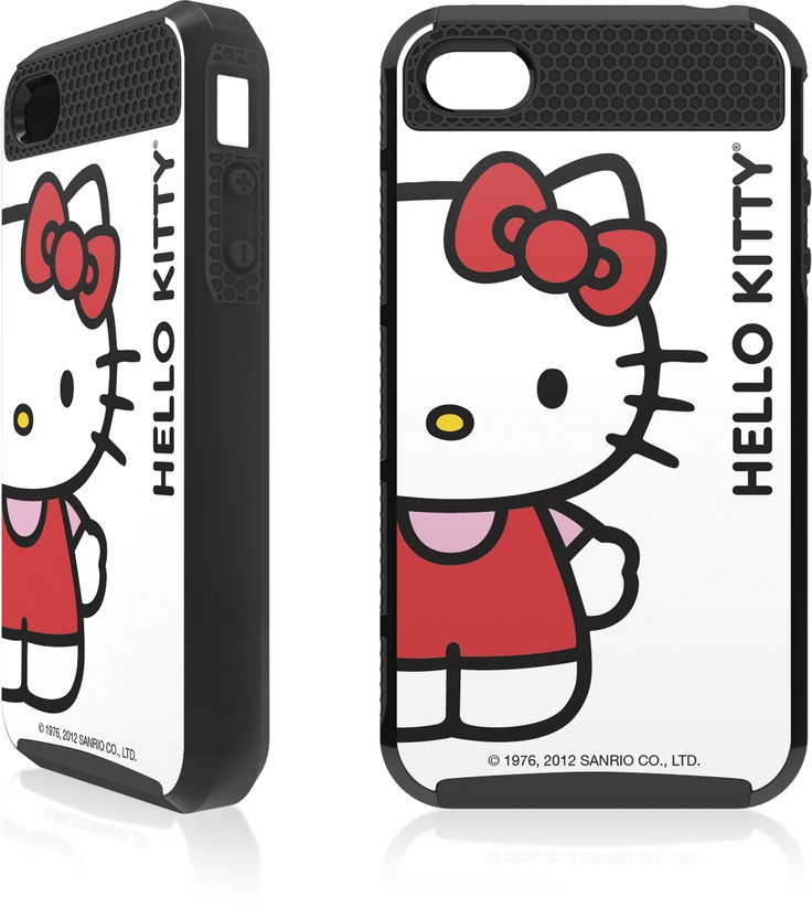 HELLO KITTY CLASSIC WHITE APPLE IPHONE 4 / 4S CARGO CASE $34.99