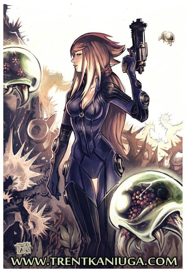 Samus By Trent Kaniuga Favorite Anime Pinterest