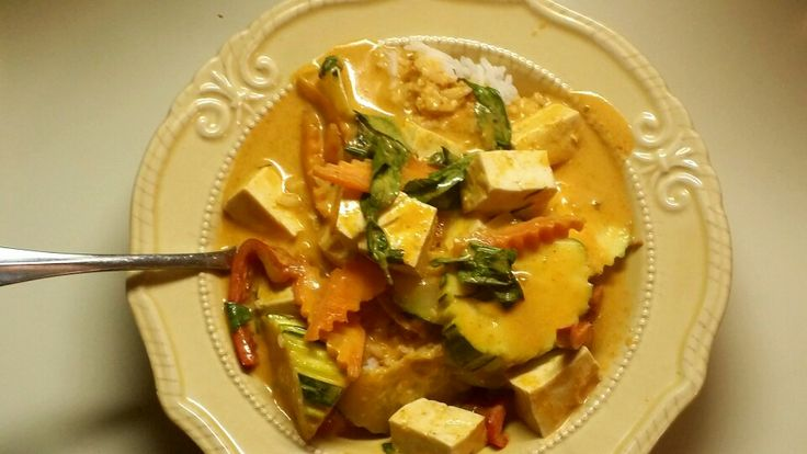 Panang Curry with Tofu | To Dine For... | Pinterest