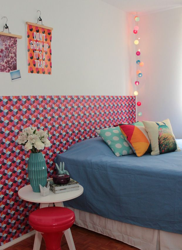 MY colorful bedroom #decor #quartos #bedrooms