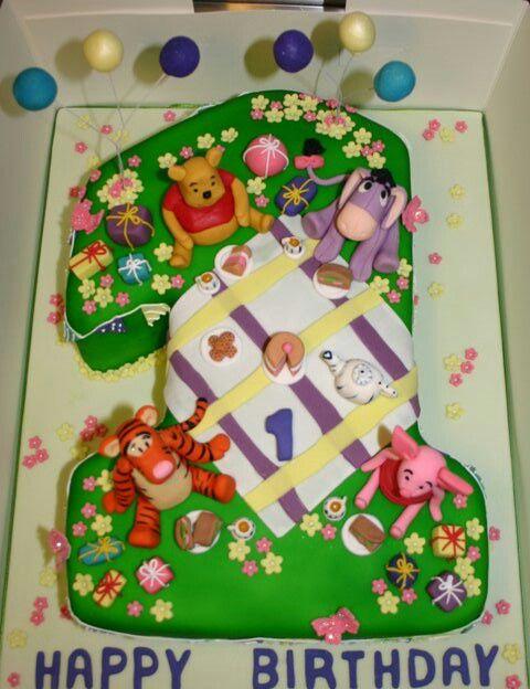 Winnie the pooh 1st birthday  Birthday Party Ideas  Pinterest