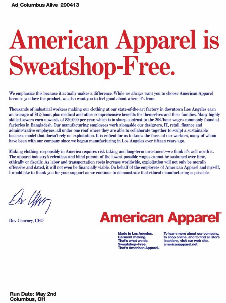 american apparel valentine's day ad