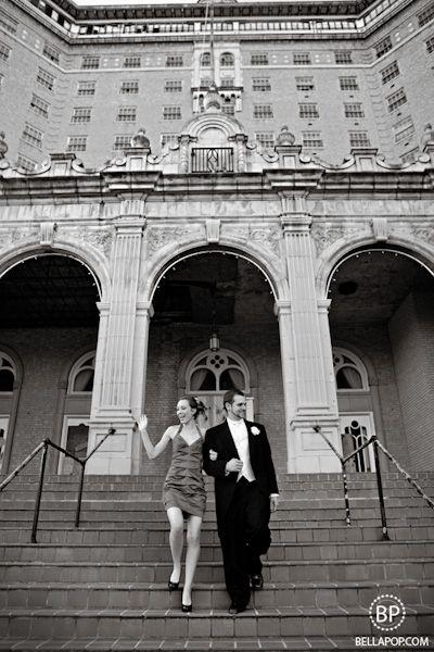 Mineral Wells Baker Hotel Bride Groom Photography Ideas Pinterest