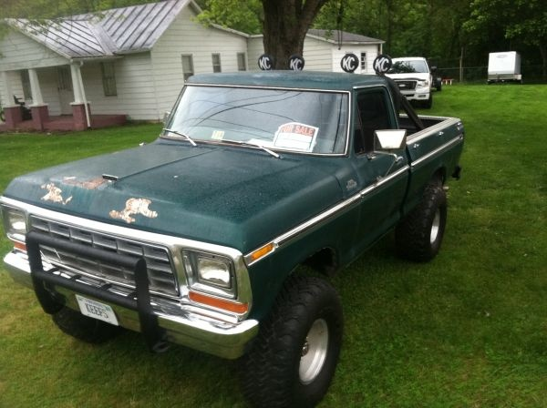 79 F150 shortbed 4x4 | 1973-79 Ford Trucks | Pinterest