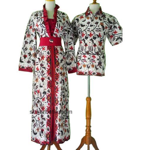 gamis batik sarimbit muslim terbaru | Modern Batik Sekar | Pinterest