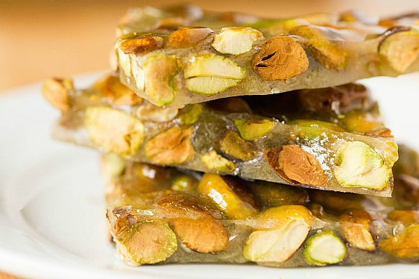 Pistachio Brittle | Recipe