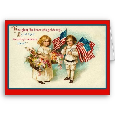 4th of july greeting card wording