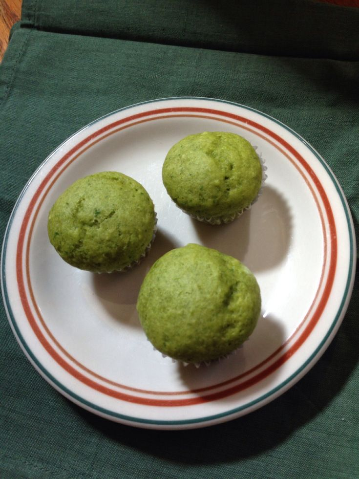 Spinach cake muffins | Recipes | Pinterest