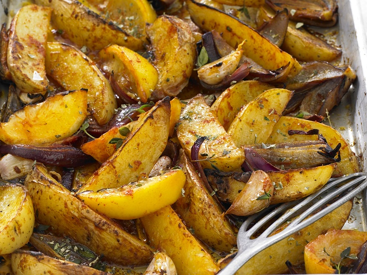 ... oven baked potato wedges spicy sweet potato wedges five etceteras