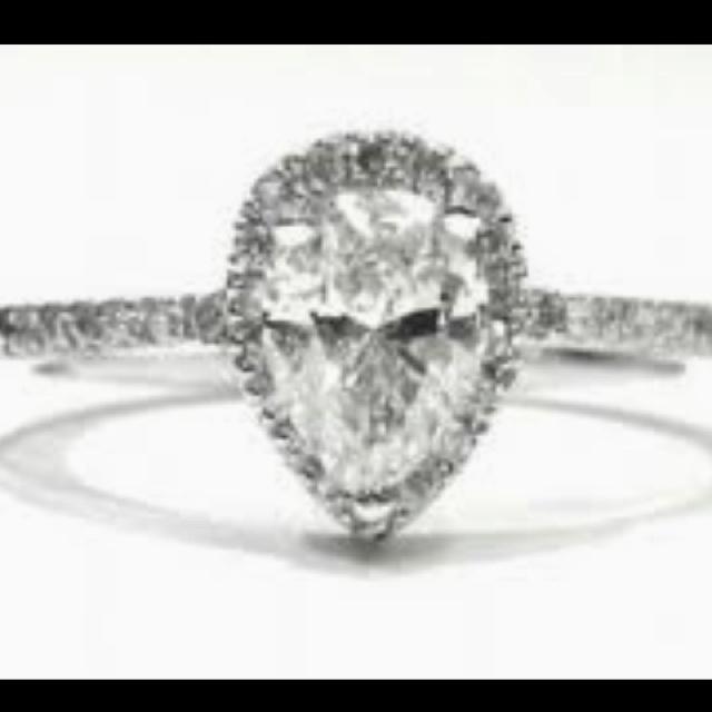 Love teardrop rings Wedding Plans