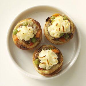Miniature Shepherd's Pies | Recipe